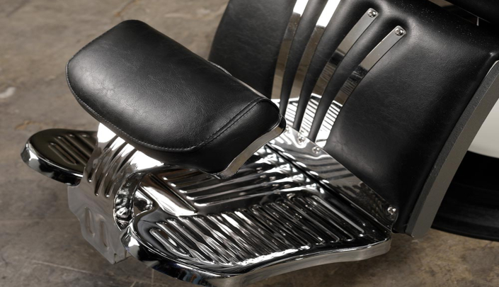 Barberchairs | Oldschool barberchair | Best price | Black chrome | USA