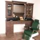 Barberstation   Workstation   Vintage barberunit   US delivery   Best delivery   Barberfurniture